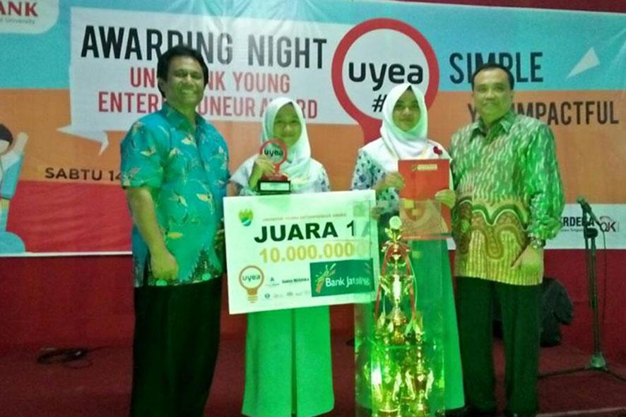 TIM KIR HIU meraih Juara 1 UYEA
